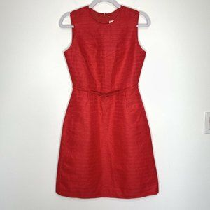 Tory Burch Red Kimberly Sheath Dress Size 4